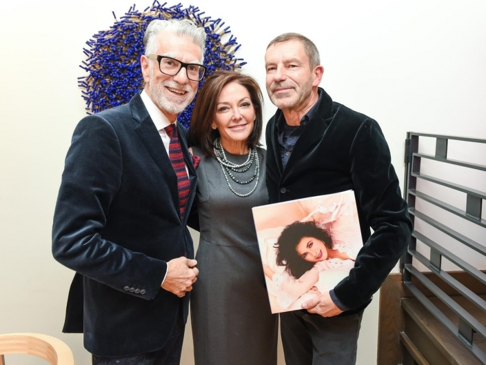 گالری: مارگارت راسل و توماس مایر جشن الیزابت من فیروز زاهدی را جشن می گیرند